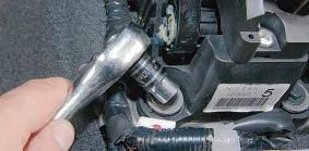 Снятие и установка кулисы рычага управления коробкой передач Ниссан Кашкай